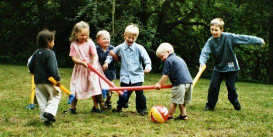 Η εξουσία της παιδικής χαράς
