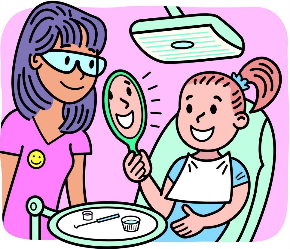 Πρώτη επίσκεψη στον Οδοντογιατρό;