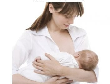 Η διατροφή της μητέρας κατά τη διάρκεια του θηλασμού.