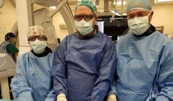 Καθετηριασμός καρδίας σε βρέφος 860γρ. στο Νοσοκομείο Hadassah