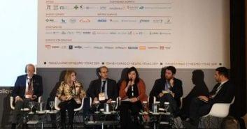 Η πολιτική του Υπουργείου Υγείας για την αντιμετώπιση του καπνίσματος στο Πανελλήνιο Συνέδριο για τα Οικονομικά και τις Πολιτικές της Υγείας