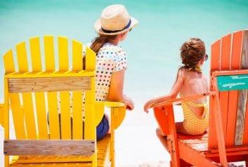 Μια μέρα στην παραλία…