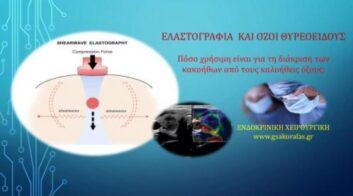 Ελαστογραφία: πόσο χρήσιμη είναι για τη διάκριση των καλοήθων από τους κακοήθεις όζους